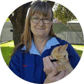 Veterinary Nurse Lyn Thiele from Tannunda