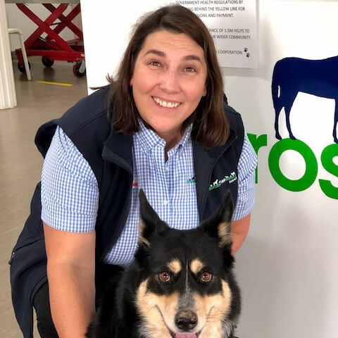 Veterinary Receptionist Lynnette Kassebaum from Angaston